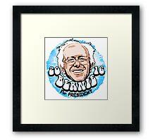 Bernie Sanders for President Election 2016 Framed Print