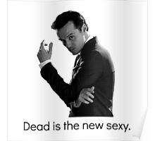 Sherlock - Dead Is The New Sexy Poster