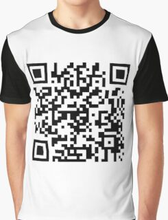 QR Graphic T-Shirt