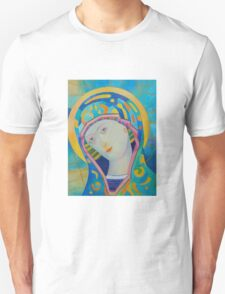Queen of Heaven, Madonna Virgin Mary icon T-Shirt