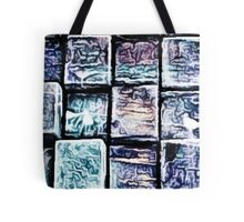 'Gum Bricks' - Iced Chewing Gum in Abstract Tote Bag