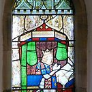 Seaton Delaval Hall Chapel window by Woodie