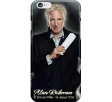Alan Rickman - Always iPhone Case/Skin
