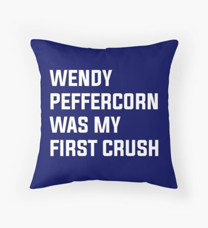 Wendy Peffercorn - Sandlot Design Throw Pillow