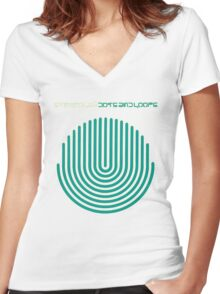 Stereolab - Dots and Loops Women's Fitted V-Neck T-Shirt