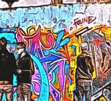 'Graffiti Street' - Abstract Graffiti Art Sticker
