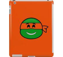 Emoji Michelangelo - Happy iPad Case/Skin