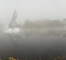 Connecticut River Kaiju by Troy Dodds