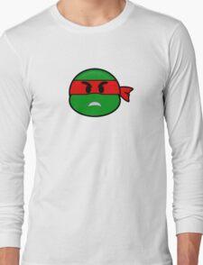 Emoji Raphael - Angry Long Sleeve T-Shirt