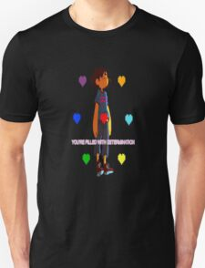 Undertale - You're filled with determination - Undertale T-Shirt