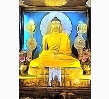 'Golden Buddha' - Gold Buddha Statue Unisex T-Shirt