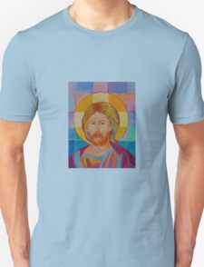 Jesus Christ Pantokrator. Made in Poland art. Christian icon original painting Unisex T-Shirt