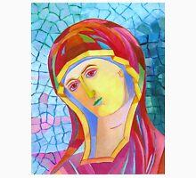 Holy Mary with Child byzantine icon Unisex T-Shirt