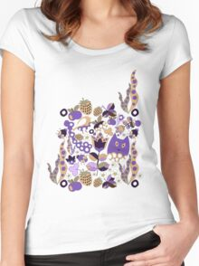 Pattern #15  Women's Fitted Scoop T-Shirt