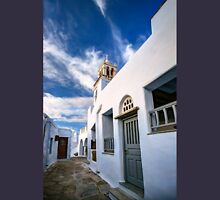 Traditional alleyway in Tinos T-Shirt