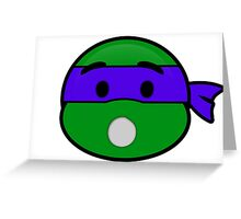 Emoji Donatello - Surprise Greeting Card