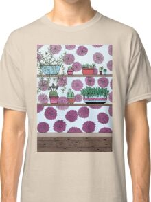 Plants versus flowers Classic T-Shirt