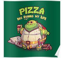 Teenage Mutant Ninja Turtles - Fat Michelangelo Poster