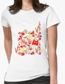 Pattern #14  Womens Fitted T-Shirt