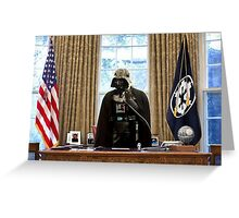 The President Greeting Card