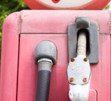 Historic gasoline pump, Sky Chief Sticker