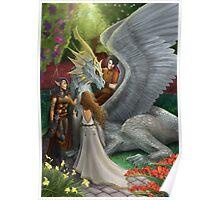 Dragoon fantasy Poster