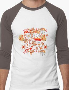 Pattern #13  Men's Baseball ¾ T-Shirt