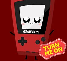 Horny Gameboy (red) by Jair Henriques