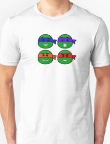 Emoji's TMNT v2 T-Shirt