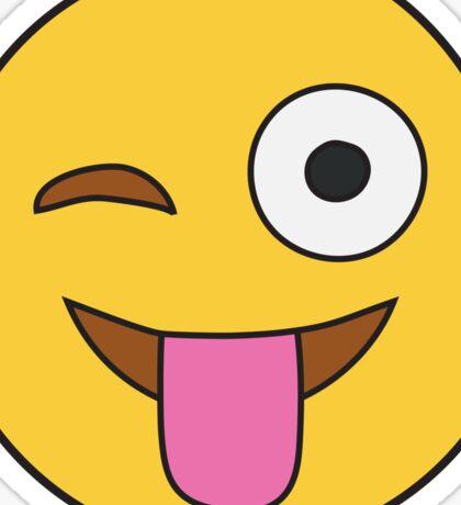 Tongue Out Emoji Sticker