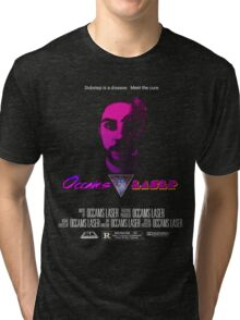 Occams Laser movie poster  Tri-blend T-Shirt