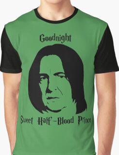 Severus Snape - Goodnight Sweet Half-Blood Prince 2 Graphic T-Shirt