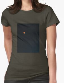 Super Blood Moon Womens Fitted T-Shirt