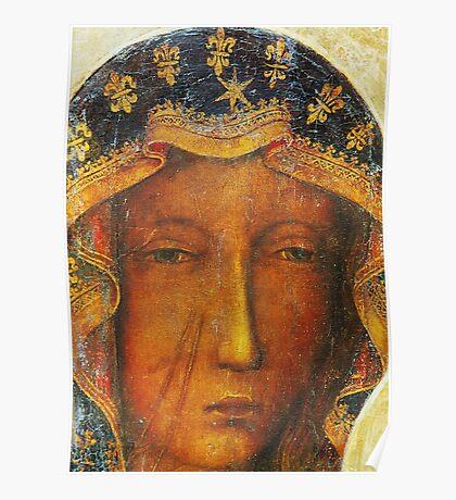 Our Lady of Czestochowa, Black Madonna Poland, Catholic icon Poster