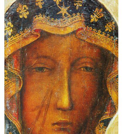 Our Lady of Czestochowa, Black Madonna Poland, Catholic icon Sticker