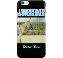 Jawbreaker - Dear You iPhone Case/Skin