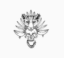 Skull with Fox Headdress Unisex T-Shirt
