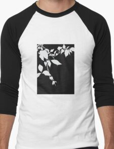 leaves in the garden Men's Baseball ¾ T-Shirt