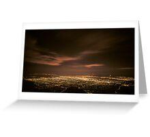 Night in Albuquerque Greeting Card