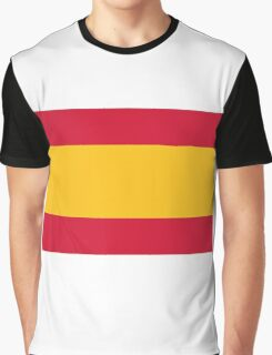 National Flag of Spain Graphic T-Shirt