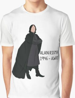 Snape - Tribute to Alan Rickman Graphic T-Shirt