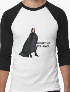 Snape - Tribute to Alan Rickman Men's Baseball ¾ T-Shirt