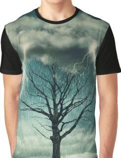 Dramatic storm Graphic T-Shirt