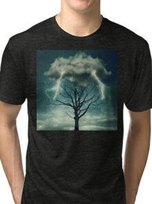 Dramatic storm Tri-blend T-Shirt