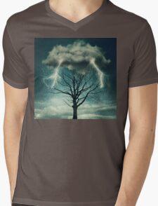 Dramatic storm Mens V-Neck T-Shirt