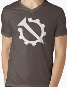 Hello Internet Official Flag (Nail and Gear) Mens V-Neck T-Shirt