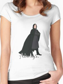 Snape - Always Women's Fitted Scoop T-Shirt