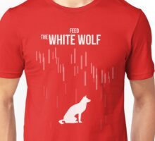 Feed the white wolf Unisex T-Shirt