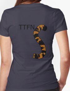 ttfn Womens Fitted T-Shirt