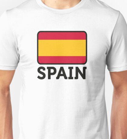 National Flag of Spain Unisex T-Shirt